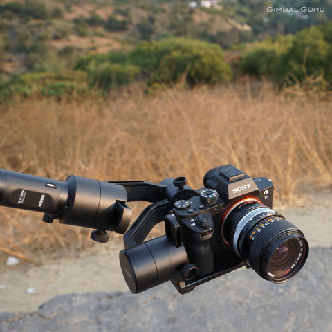 MOZA Air Gimbal Stabilizer offers the most payload for the best