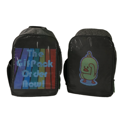 GifPack Customizable LED Backpack Kevin Kunze