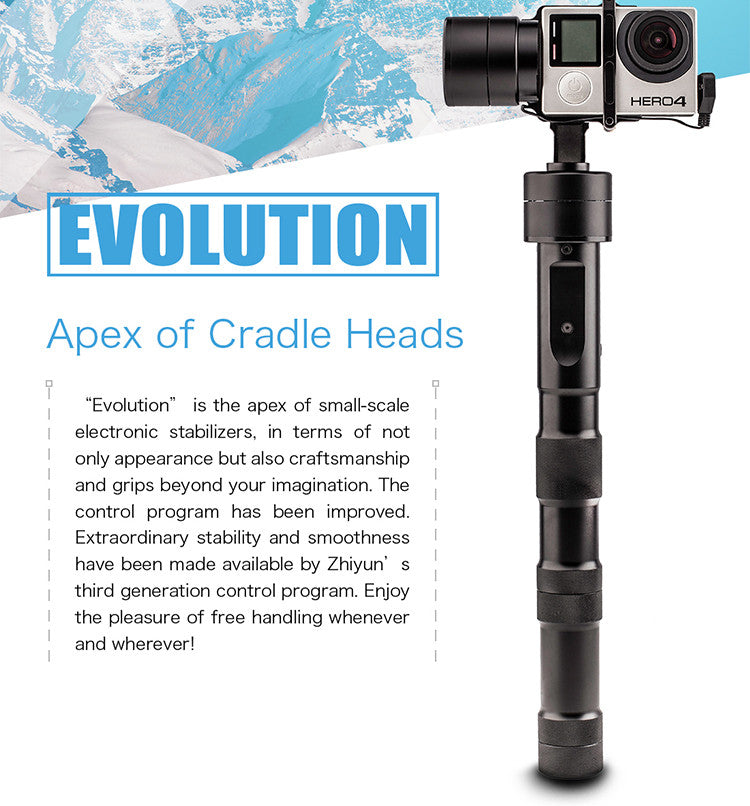 Evolution GoPro Stabilizer