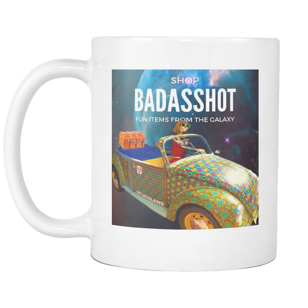 ShopBadassHot Official Coffee Mug