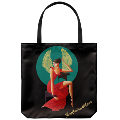 Lady in Red Designer Tote