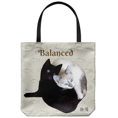 Ying/Yang -The Balanced Tote