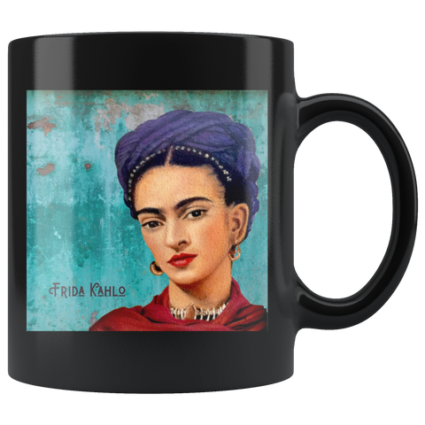 11 oz Mug of BadassHot Frida Kahlo