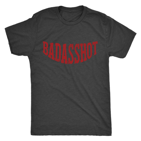 Limited Edition: Official Badasshot Swag- Mens Triblend