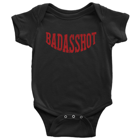 Limited Edition: Official Badasshot Swag - Baby Onesie