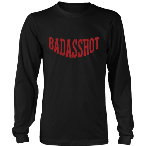 Badasshot District Unisex Long Sleeve Tee