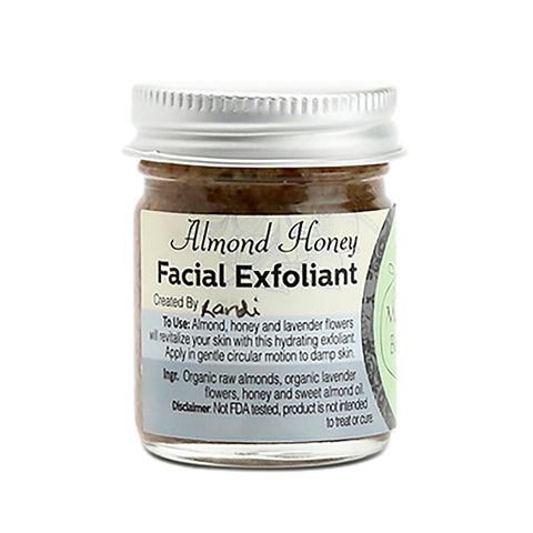 Almond Honey Facial Exfoliant