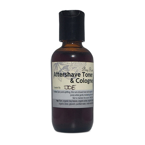 Bay Rum Aftershave Toner + Cologne