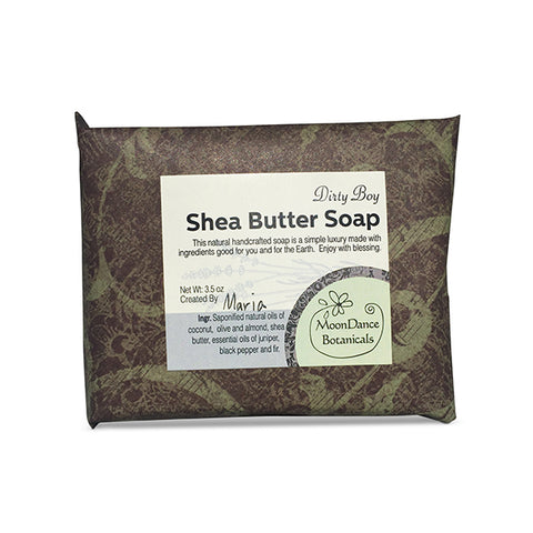 Dirty Boy Shea Butter Soap