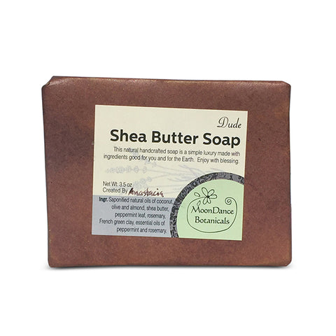 Dude Shea Butter Soap