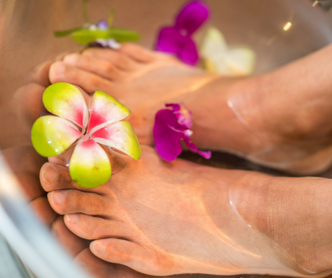 Free Luscious Foot Pampering Party