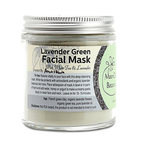 Lavender Green Facial Mask