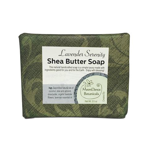 Lavender Serenity Shea Butter Soap