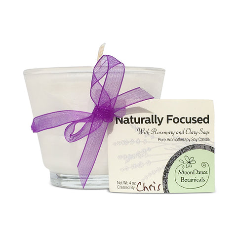 Naturally Focused Candle