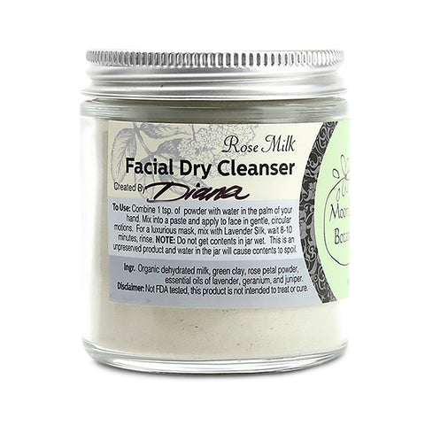 Rose Milk Dry Cleanser