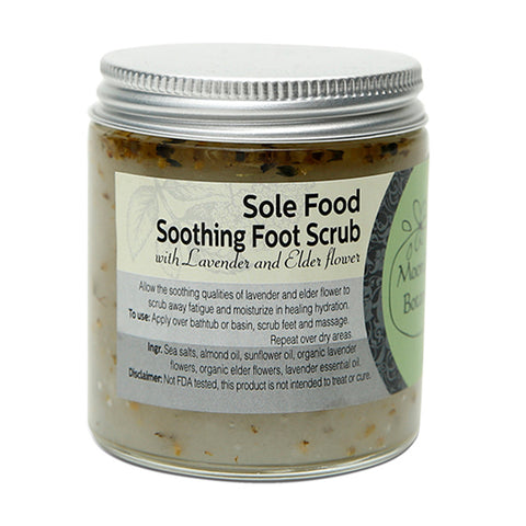 Sole Food Soothing Foot Scrub