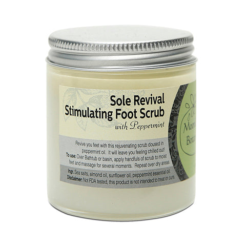 Sole Revival Stimulating Foot Scrub With Peppermint