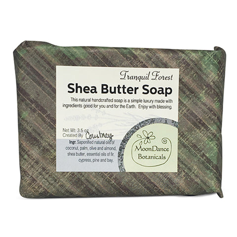 Tranquil Forest Shea Butter Soap