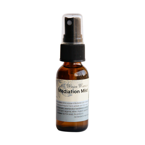 Winter Warrior Meditation Mist