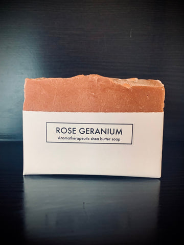 Rose Geranium Shea Butter Soap