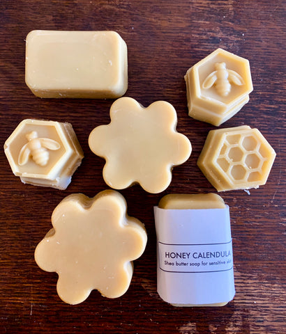 Honey Calendula Shea Butter Soap