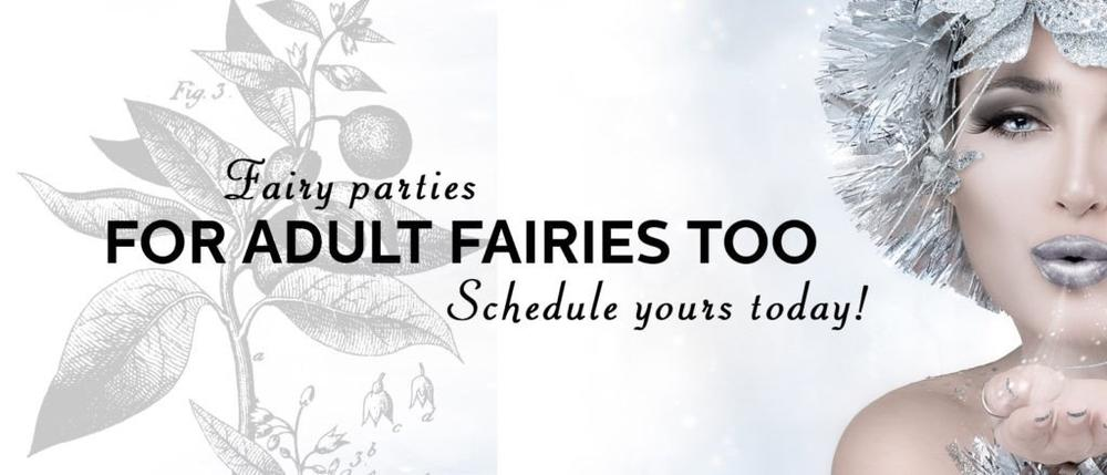 Adult Fairy Parties