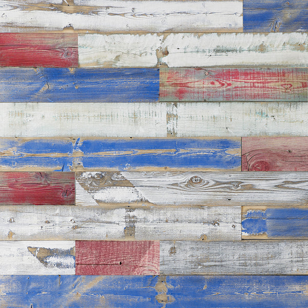 Reclaimed Wood Planks with the Patriot Finish