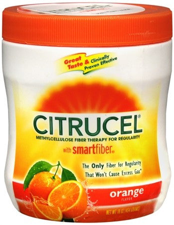Citrucel Powder Orange Flavor - 16 oz