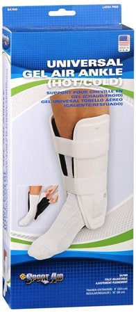 Sport Aid Universal Gel Air Hot/Cold Ankle Support Regular - 1 ea