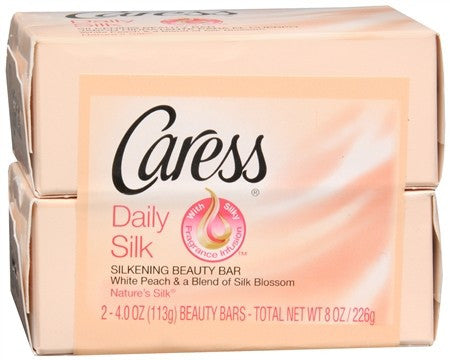Caress Daily Silk Silkening Beauty Bars - 8 oz