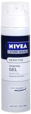 Nivea For Men Sensitive Shaving Gel - 7 oz