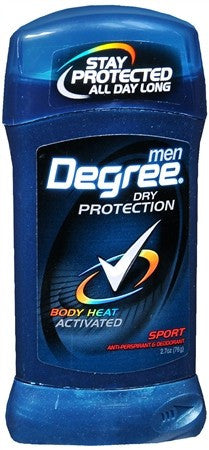 Degree Men Invisible Stick Antiperspirant Deodorant Sport - 2.7 oz