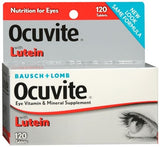 Bausch + Lomb Ocuvite with Lutein Tablets - 120 tabs