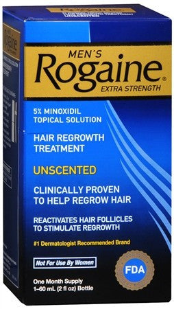Rogaine Men's Extra Strength Unscented - 2 oz