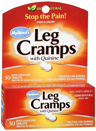 Hyland's Leg Cramps with Quinine Tablets - 50 tabs