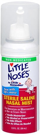 Little Remedies For Noses Sterile Saline Nasal Mist - 2 oz