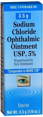Akorn Sodium Chloride Ophthalmic Ointment - 3.5 gm