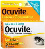 Bausch + Lomb Ocuvite Lutein & Zeaxanthin Capsules - 36 caps