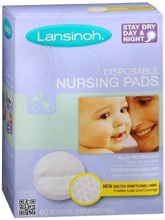 Lansinoh Disposable Nursing Pads - 60 ea