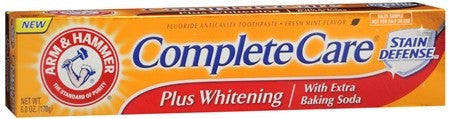ARM & HAMMER Complete Care Toothpaste Plus Whitening Fresh Mint - 6 oz