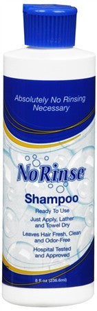 No Rinse Shampoo - 8 oz