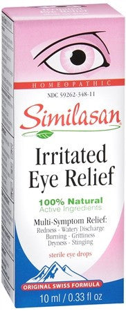 Similasan Irritated Eye Relief Drops - 0.33 oz