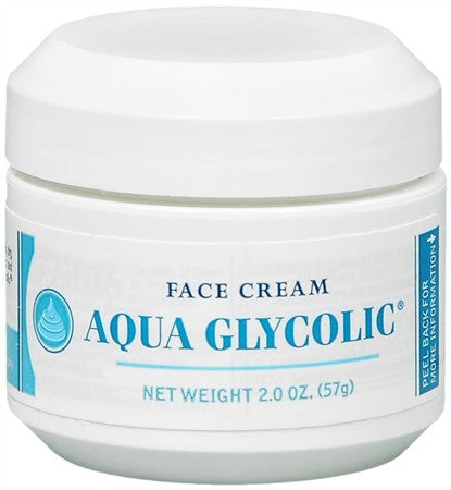 Aqua Glycolic Face Cream - 2 oz