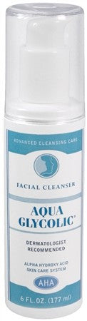 Aqua Glycolic Facial Cleanser - 6 oz