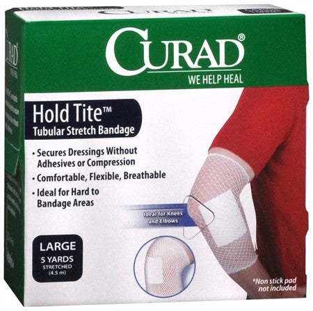Curad Hold Tite Tubular Stretch Bandage Large - 5 yrds