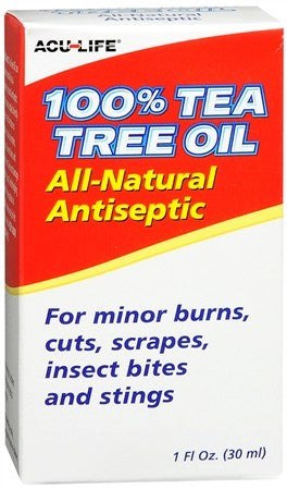 Acu-Life 100% Tea Tree Oil - 1 oz