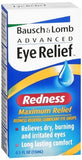 Bausch + Lomb Advanced Eye Relief Redness Reliever/Lubricant Eye Drops - 0.5 oz