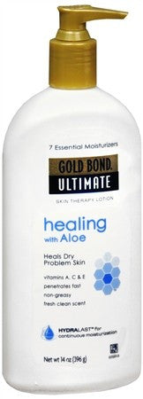 Gold Bond Ultimate Healing Skin Therapy Lotion Aloe - 14 oz