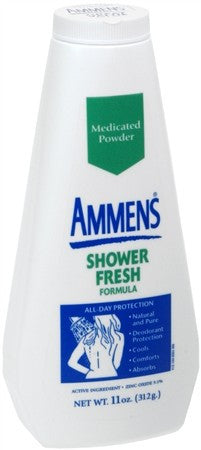 Ammens Medicated Powder Shower Fresh - 11 oz