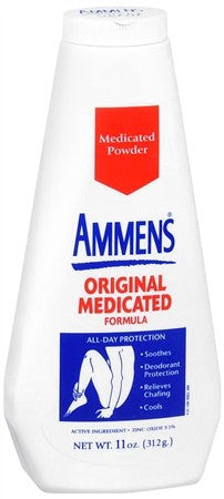 Ammens Medicated Powder Original - 11 oz